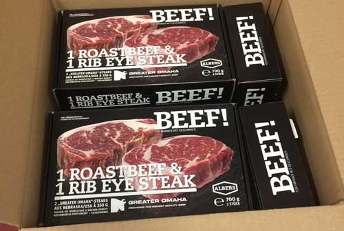Steak Cuts einkaufen und aufbewahren