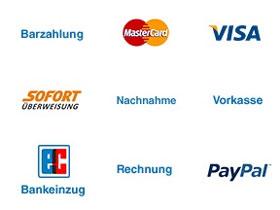 Zahlungsmöglichkeiten bei Online-Shops