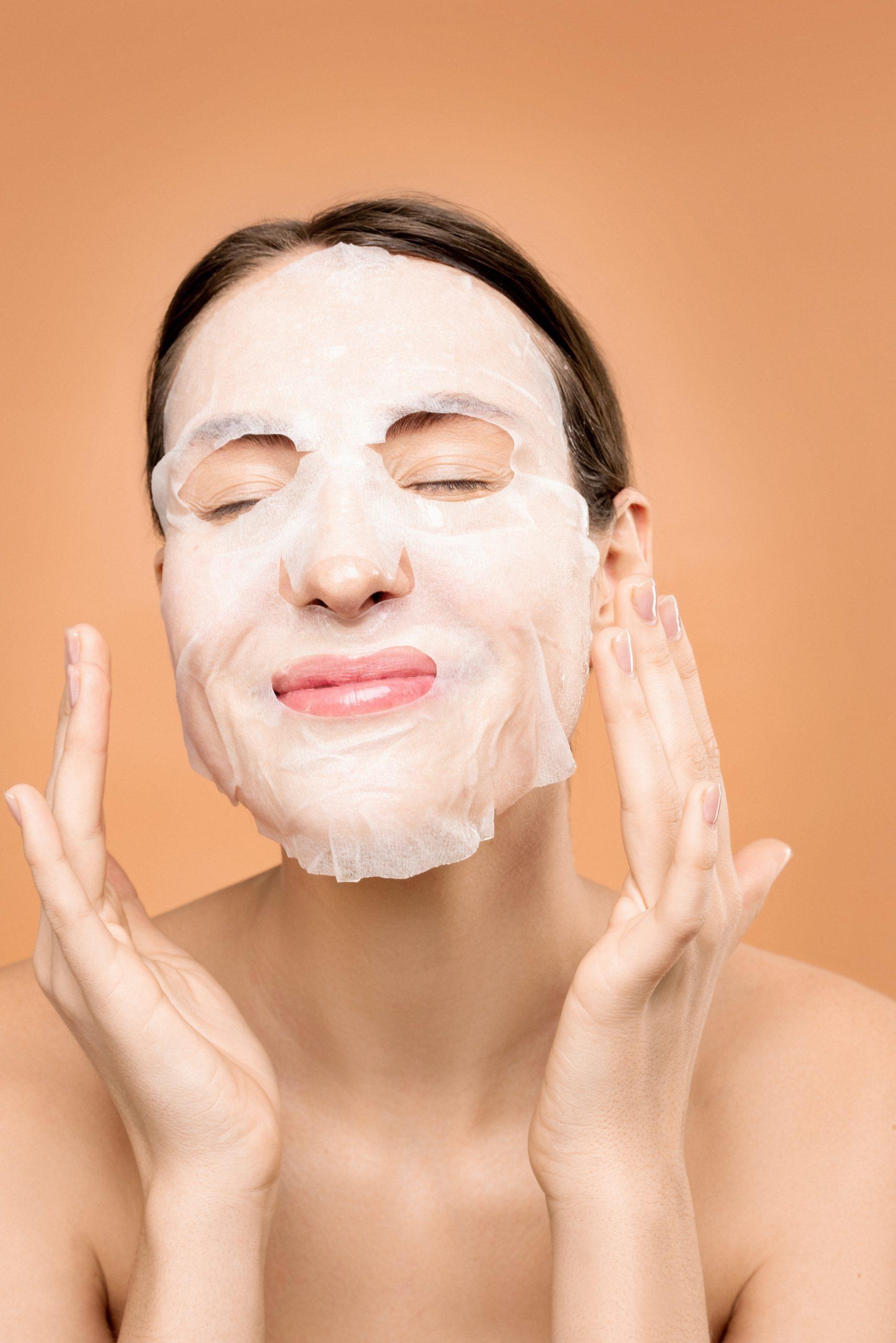 Gesichtsmasken sind ein wichtigen Teil des Wellness-Programms!